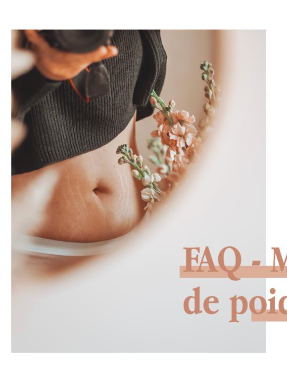 FAQ – MA PERTE DE POIDS